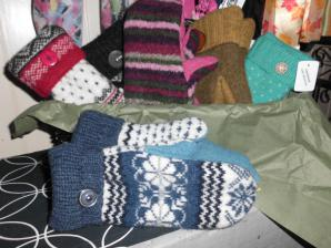 Handcrafted Wool Mittens