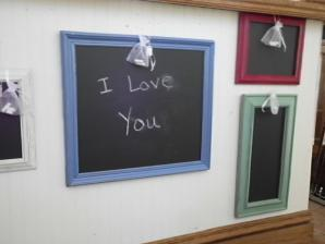 HANDCRAFTED CHALK BOARDS