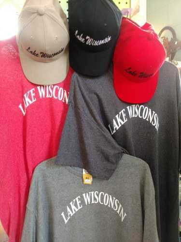 Lake Wisconsin T-shirts and Caps
