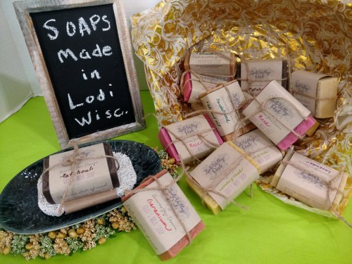 """Lodi Valley Posh"" Goat Milk Soaps"