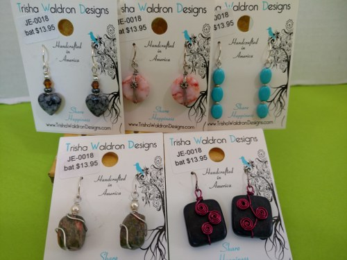 Trisha Waldron Designs EARRINGS
