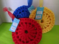 Crocheted Kitchen Scrubbies