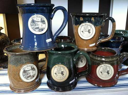 Stoneware Mugs - Lodi and Lake Wisconsin